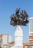 共和国树纪念碑,伊兹密尔,土耳其 免版税图库摄影