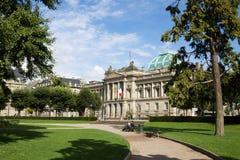 共和国的地方在史特拉斯堡,法国 免版税图库摄影