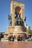 共和国纪念碑 免版税图库摄影