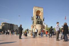 共和国纪念碑 免版税库存照片