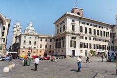 共和国总督的宫殿,热那亚,意大利 库存图片