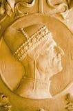 共和国总督雕塑,威尼斯 库存照片