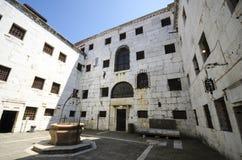 共和国总督` s宫殿的监狱 库存照片