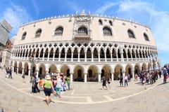 共和国总督` s宫殿,威尼斯,意大利 免版税图库摄影