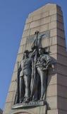 共和国(雀鳝)雕象的盛大军队,华盛顿特区, 库存照片