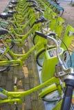 共有的自行车 免版税库存图片