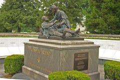 共济会的纪念碑 免版税库存照片