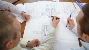 关于一个新的工程设计的发展和讨论 影视素材