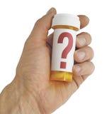 关于医学的问题 免版税库存图片
