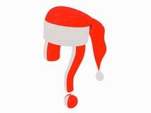 关于圣诞节的问题 免版税库存图片