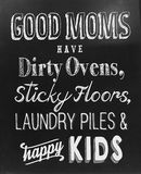 关于好母亲的有用的技巧 库存图片