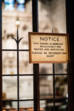 关于尊敬Privaty或祷告的一点笔记在Trinit里面 库存照片