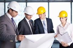 关于建造场所的论述 免版税库存照片
