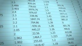 关于报表的改变的数据 股票视频