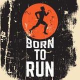 关于跑的行情印刷背景 免版税库存图片