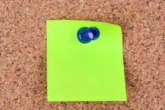 关于黄柏的绿色笔记 库存图片