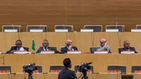 关于ICT的第10次国际会议发展的,教育 免版税图库摄影