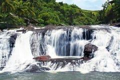 关岛瀑布 库存图片