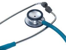关心健康听诊器 库存图片