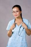 关心公共卫生工作者 免版税库存照片