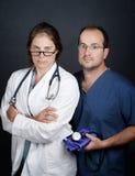 关心卫生业职员 图库摄影