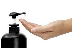 关心容器健康管 库存照片