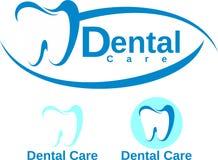 关心牙齿设计 免版税库存图片