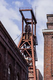 关税同盟煤矿工业建筑群-埃森,德国 图库摄影