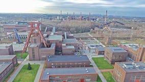 关税同盟煤矿工业建筑群 库存图片