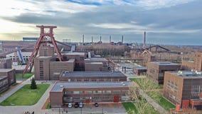 关税同盟煤矿工业建筑群 库存照片