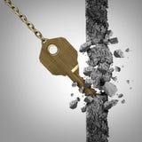 关键发现企业成功概念 免版税库存图片