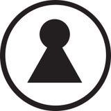 关键符号符号 免版税库存照片