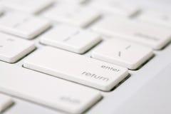 关键董事会在空白的编号上写字 免版税库存图片