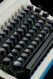 关键董事会老打字机 图库摄影