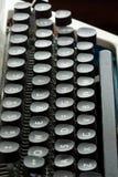 关键董事会老打字机 库存图片