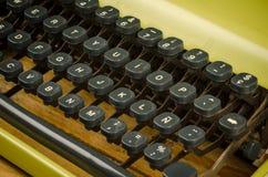 关键董事会老打字机 库存照片