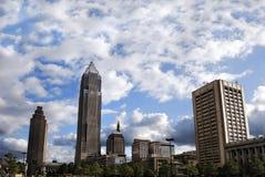 关键银行塔在克利夫兰 免版税库存照片