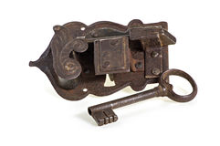 关键锁定 免版税库存照片