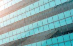 关闭一个现代企业大厦 免版税库存图片