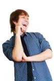 有微笑的人 免版税库存照片