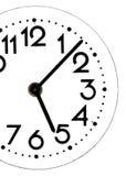 关闭一个简单的时钟 免版税库存照片