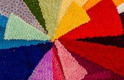关闭一千在创造伞装饰的一个完善的同步的花 图库摄影