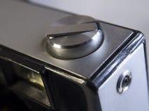关闭一台减速火箭的影片照相机 库存图片