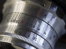 关闭一台减速火箭的影片照相机 库存照片