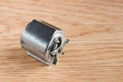 关闭一台微型自行车发电机 免版税库存照片