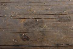 关闭与在被去除的吠声下被去除的膜的残余的一本各式各样的苏格兰松树树日志 木头有ext 免版税图库摄影