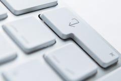 关闭个人计算机关键董事会按钮  免版税库存图片