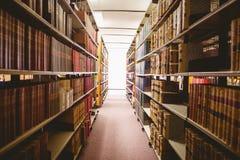 关闭书架 库存图片