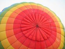 关闭五颜六色的热空气气球 免版税图库摄影