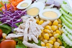 关闭健康食物 免版税库存图片